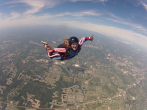 Learning how to Skydive Solo